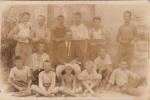Clara: my father with friends in Unije around 1928 — with Mariano Rerecich.