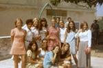 Clara: girls Unije 1970 — with Rose Maracic, Rosetta Carcich, Silvana Peros, Anita Forko, Silvana Pillepich and Nirvana Karcic.