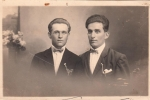 Clara: my oncle Virgilio Radoslovich and oncle Gianni Rerecich