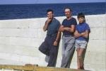 Dominic: Dominik (left), Josip Rerecic (Ula) and Josip (Pino) Rerecic (1970)