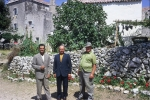 Dominic:  Dominik, my father Mate Karcic and Menigo Doroteje.