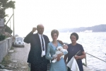 Dominic: Ivo Galosic, his daughter and wife Antonia  (1970)