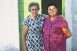 Dominic: My brother-in-law's sister (left) Lidia Rerecich (1914-2004) and my teta Marica Nikolic (z plasice 1908-1998).