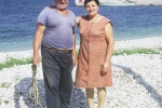 Dominic: Menigo (Dinko Doroteje) Karcic (1900-1981) and my aunt, teta Marica Nikolic (z plasice -1908-1998). Picture was taken in 1970. Menigo always had a great big smile and was always cheerful.