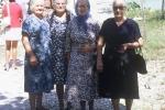 Dominic: Marija Nikolic (Angela), my mother Duma Karcic, Marija Marketa, Uliva. (Unije 1970)