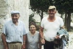 Dominic:(on the left) Nikolo (1922-1995) and Palma Karcic (what good and kind people) with Ivo Galosic. Ivo was an individual who was always good for a laugh and usually was