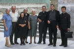Dominic: My mother Duma Karcic, my father Mate Karcic, Uliva, Antonia Nikolic (Perine), Marija Karcic (bravarovini - z balature), Don Andrea, unknown priest, father Mihovil Prendivoj. (Unije 1970)