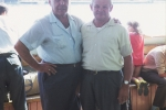 Dominic: My father, Mate Karcic (right), with Martin Rerecic (left) who was a relative of my mother's.