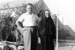 Dominic: My father, Matthew Karcic (1904-1996) and his mother, my nonna Maria Karcic (1874-1962). Picture was taken in 1952.