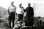 Dominic: (left to right) My father Matthew Karcic (Mate 1904-1996) my grandfather Martin Nikolic and grandmother Dinka Nikolic. In front is my brother Matthew. Picture was taken in 1952