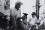 Dominik s psom i Koraljkom