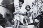 Antica Kraljić s unucima (Davor i Koraljka)