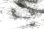Detaljan prikaz Unija na V. pomorskoj karti edicije Carta di cabottagio del Mare Adriatico, 1822.