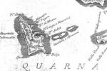 Otok Unije na Fortisovoj karti cresko-lošinjske otočne skupine, 1771.