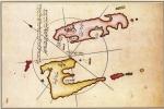 Reisov kartografski prikaz Unija i Lošinja, 1526.
