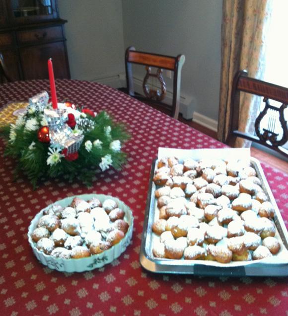 Fritule (ispekla i fotografirala Sonja Kraljević)