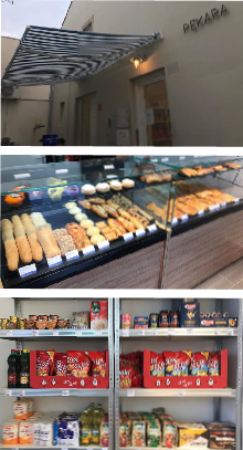 Pekara i mini-market Crosta Unije